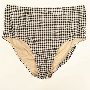 Old Navy Womens Bathing Suit Bottom Plaid